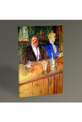 Tablo360 Henri de Toulouse- Lautrec In the Bar 45 x 30