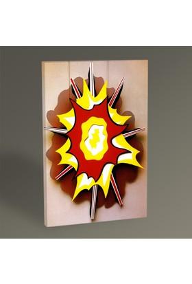 Tablo360 Roy Lichtenstein Explosion Tablo 45 x 30