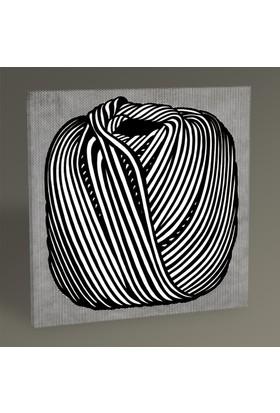 Tablo360 Roy Lichtenstein Ball of Twine 30 x 30