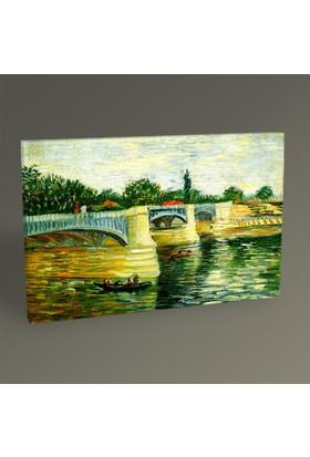 Tablo360 Vincent Van Gogh Seine Nehri Tablo 45 x 30