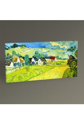 Tablo360 Vincent van Gogh Vue Ensoleille pres d'Auvers 60 x 30