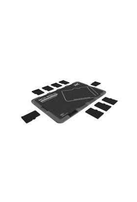 JJC Memory Card Case Hafıza Kartı Tutucu (10 MicroSD Kart - Siyah)