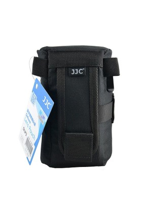 JJC DLP-3 Deluxe Lens Pouch Objektif Çantası (8.4x16cm)