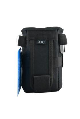 JJC DLP-2 Deluxe Lens Pouch Objektif Çantası (8x15cm)