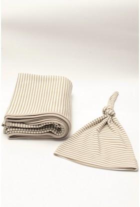 Neko Battaniye + Şapka Set-Çizgili
