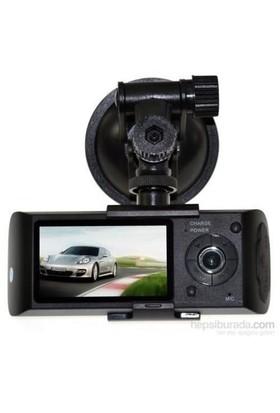 Junglee C5 Dual Kamera Dual Ekran Araç Kamera Türkçe Menü+Gps Modül Hediyeli