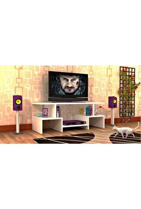 Rafline Twist4 Tv Ünitesi - Beyaz