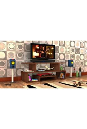 Rafline Twist3 Tv Ünitesi - Wenge
