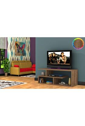 Rafline Optimum Tv Ünitesi - Ceviz