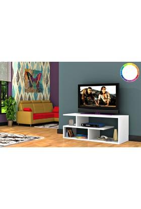 Rafline Optimum Tv Ünitesi - Beyaz