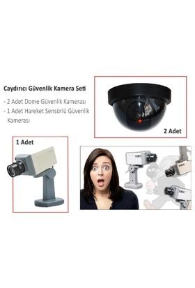Toptancı Kapında Caydırıcı Güvenlik Kamera Seti