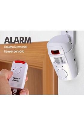 Toptancı Kapında Hareket Sensörlü Alarm Seti (2 Adet Uzaktan Kumandalı)