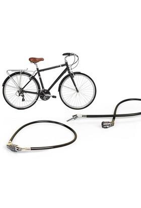 Toptancı Kapında Şifreli Bisiklet Kilidi