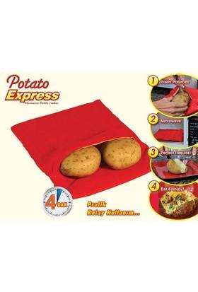 Toptancı Kapında Kumpir Pişirme Kesesi Potato Express