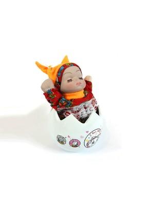 Toptancı Kapında Porselen Yumurta İçinde Uyuyan Müzikli Bebek