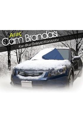 Toptancı Kapında Kar Buz Önleyici Araç Ön Cam Brandası
