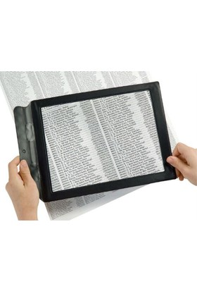 Toptancı Kapında Kitap Okuma Büyüteci