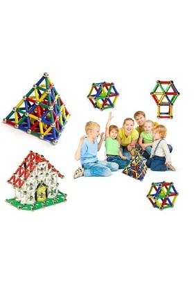 Toptancı Kapında 222 Parça Manyetik Lego Seti