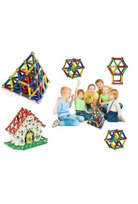 Toptancı Kapında 555 Parça Manyetik Lego Seti