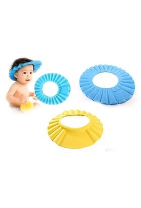 Toptancı Kapında Bebek Banyo Şapkası Baby Mate - Sarı