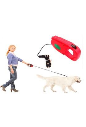 Toptancı Kapında Uzayıp Kısalabilen Mekanizmalı Köpek Tasması