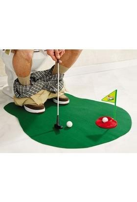 Toptancı Kapında Profesyoneller İçin Tuvalet Golfü