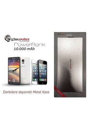 Toptancı Kapında 10000 Mah Powerbank - Taşınabilir Şarj Aleti (Metal Kasa)