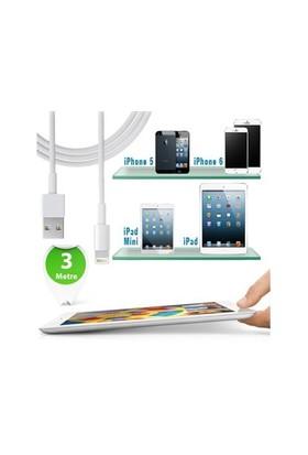 Toptancı Kapında 3 Metre İphone Ve Tablet Şarj Kablosu