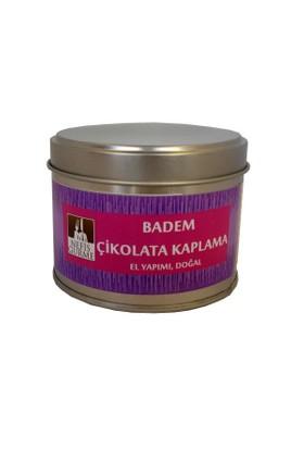 Nefis Gurme Badem Bitter Çikolata Kaplama 150 Gr Metal Kutu