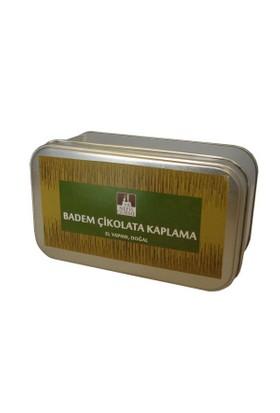 Nefis Gurme Badem Bitter Çikolata Kaplama 250 Gr Metal Kutu