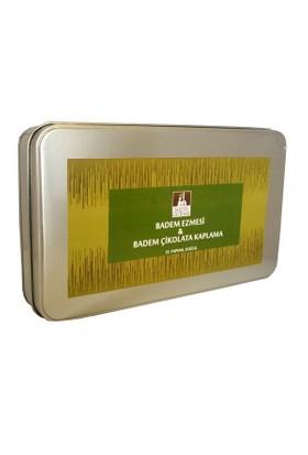 Nefis Gurme Badem Ezmesi & Badem Çikolata Kaplama Karışık 900 Gr Metal Kutu