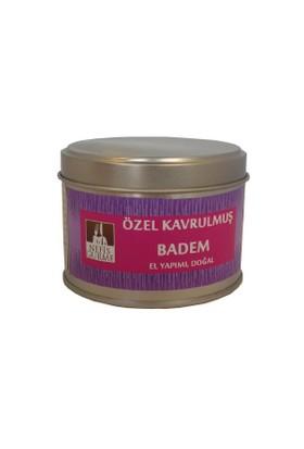 Nefis Gurme Özel Kavrulmuş Badem 100 Gr Metal Kutu