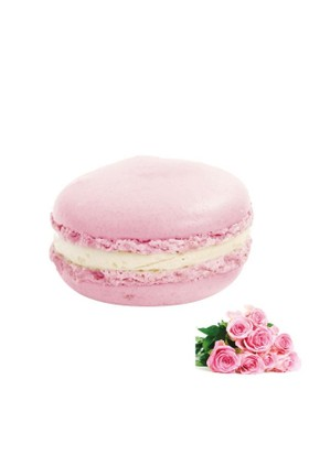 Nefis Gurme Güllü Deluxe Parisian Macaron 12'Li