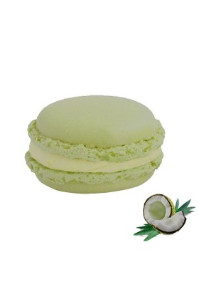 Nefis Gurme Hindistan Cevizli Deluxe Parisian Macaron 27'Li