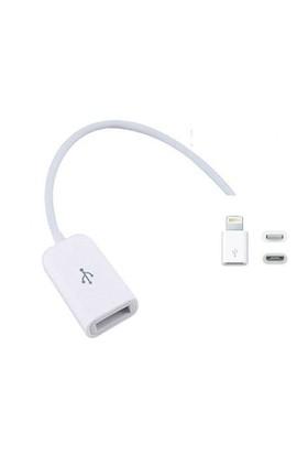 Toptancı Kapında Apple iPhone 5/5S/5C-6/6S/6 Plus Otg Bağlantı Kiti