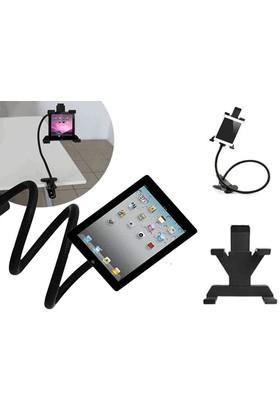 Toptancı Kapında Spiral Gövdeli Oynar Başlıklı Akrobat Tablet Tutucu