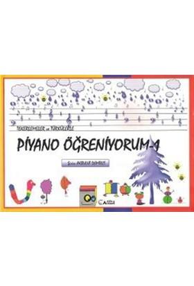 Tekerlemeler ve Türkülerle Piyano Öğreniyorum - 1 - Şirin Akbulut Demirci