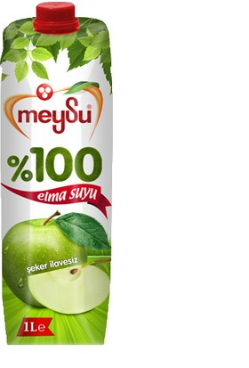 Meysu %100 Elma Suyu (1 Lt)