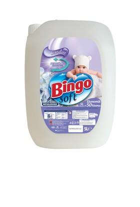 Bingo Soft Sensitive Çamaşır Yumuşatıcısı 5L