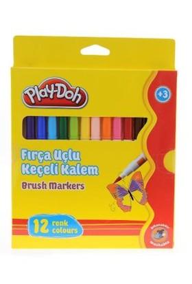 Play-Doh Fırça Uçlu Keçeli Kal.12 Li Play-Ke009