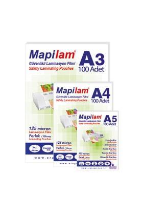 Mapilam 100 Mic A5 Parlak Laminasyon Filmi (1021005)