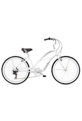 Electra Cruiser Lux 7D Ladies - Beyaz Bisiklet