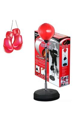 Cosfer Punching Ball Yükseklik Ayarlı 126-146 cm 1 Çift Eldiven Hediyeli