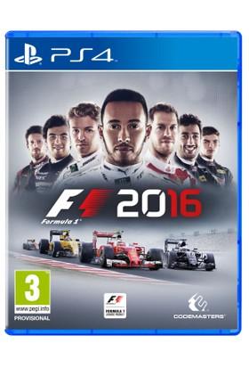 F1 2016 FORMULA 1 PS4 Oyun