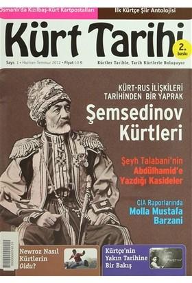 Kürt Tarihi Dergisi Sayı: 1