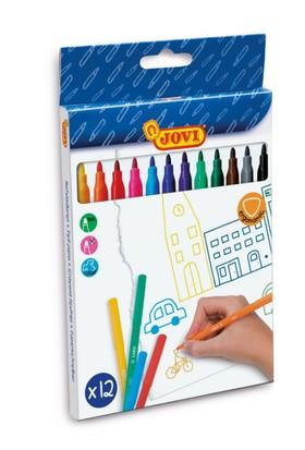 Jovi Yıkanabilir Keçeli Kalem 12 Renkli