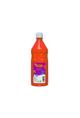 Jovi 750 ml Turuncu Parmak Boyası (Ekonomik Şişe Ambalaj)