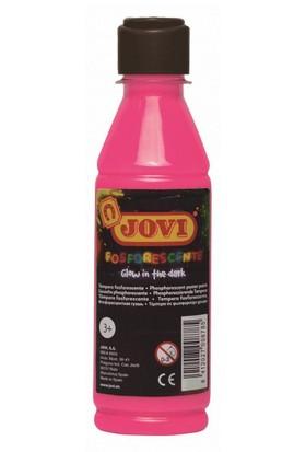 Jovi Fosforlu Sıvı Guaj Boya 250 ml (Pembe)