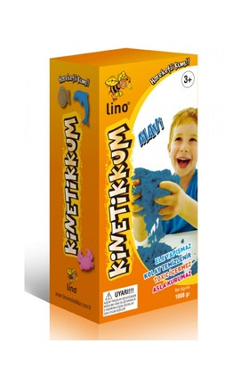 Lino Ln-1000Mr Mavi Kinetik Kum 1000 Gr.
