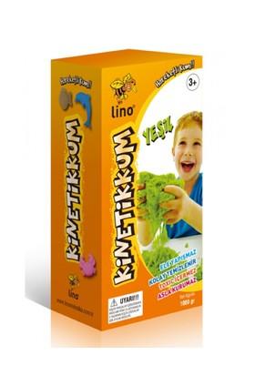 Lino Ln-1000Y Yeşil Kinetik Kum 1000 Gr.